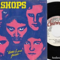 Disques de vinyle: THE BISHOPS - I TAKE WAHT I WANT - SINGLE DE VINILO EDICION ESPAÑOLA - CHISWICK PUNK POWER POP #. Lote 219684178