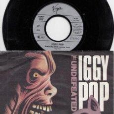 Disques de vinyle: IGGY POP - THE UNDEFEATED - SINGLE DE VINILO #. Lote 219684721