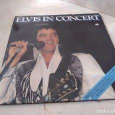 Discos de vinilo: ANTIGUOS DISCOS ELVIS IN CONCERT. AÑO 1977. USA. Lote 219684973