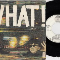 Disques de vinyle: SOFT CELL MARC ALMOND - WHAT ! - SINGLE DE VINILO EDICION ESPAÑOLA #. Lote 219685273