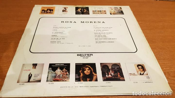 Discos de vinilo: ROSA MORENA / MISMO TÍTULO / LP - BELTER-1971 / MBC. ***/*** - Foto 2 - 219685568