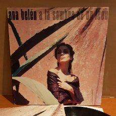 Discos de vinilo: ANA BELÉN / A LA SOMBRA DE UN LEON / LP - CBS-1988 / MBC. ***/*** LETRAS.. Lote 219686450