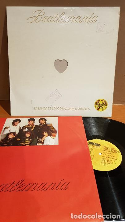 LA BANDA DE LOS CORAZONES SOLITARIOS / BEATLEMANIA / LP - BELTER-1981 / MBC. ***/*** ENCARTE. (Música - Discos - LP Vinilo - Rock & Roll)