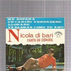 Dischi in vinile: NICOLA DI BARI ME ESPERA. Lote 219689415