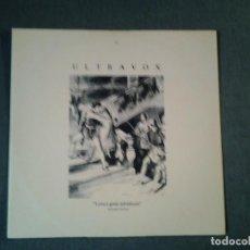Discos de vinilo: ULTRAVOX -LOVES GREAT ADVENTURE- MAXI-SINGLE 45RPM CHRYSALIS 1984 UVX3 MUY BUENAS CONDICIONES.. Lote 219690925