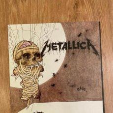 Discos de vinilo: METALLICA ONE, MAXISINGLE EDICIÓN ESPAÑOLA 1989. Lote 219692895