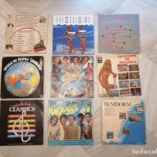 Discos de vinilo: LOTE 9 DISCOS DE VINILO GRANDES ÉXITOS. AÑOS 70 Y 80.. Lote 219699813