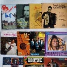 Discos de vinilo: LOTE DE 10 EP'S + 1 SINGLE. DE TODOS LOS ESTILOS. AÑOS 50 - 60 - 70. LEER DESCRIPCIÓN.. Lote 219722416