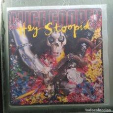 "Discos de vinilo: ALICE COOPER - HEY STOOPID (7"", SINGLE) (EPIC) 656983 7 (1991,UK) (D:VG+). Lote 219741280"