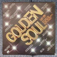 Discos de vinilo: GOLDEN SOUL - IN AID OF THE WORLD´S REFUGEES. EDITADO POR HISPAVOX. AÑO 1.976. Lote 219744065