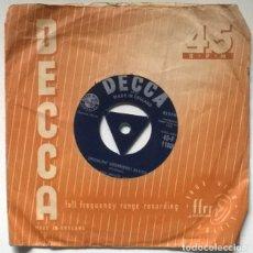 Discos de vinilo: TED HEATH & HIS MUSIC. RAUNCHY/ SWINGIN' SHEPHERD BLUES. DECCA, USA 1958 SINGLE. Lote 219766598