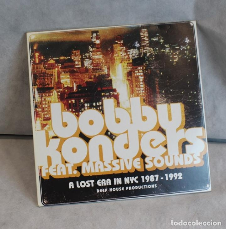 A LOST ERA IN NYC 1987-1992,BOBBY KONDERS FEAT. MASSIVE SOUNDS,INTERNATIONAL DEEJAY GIGOLO RECORS. (Música - Discos - LP Vinilo - Disco y Dance)