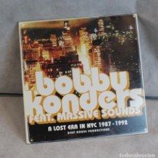 Discos de vinilo: A LOST ERA IN NYC 1987-1992,BOBBY KONDERS FEAT. MASSIVE SOUNDS,INTERNATIONAL DEEJAY GIGOLO RECORS.. Lote 219771283