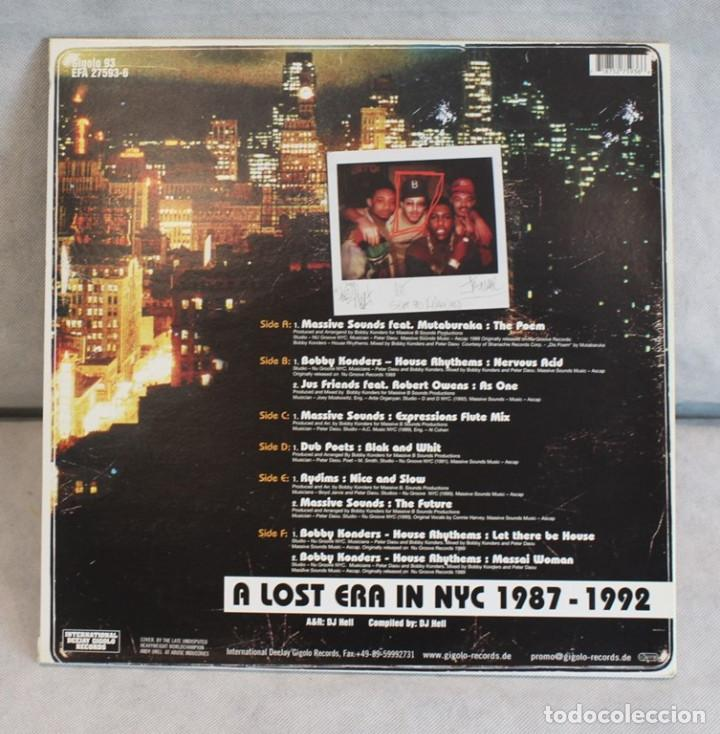 Discos de vinilo: A lost era in NYC 1987-1992,Bobby Konders feat. Massive sounds,International deejay gigolo recors. - Foto 2 - 219771283