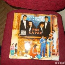 Discos de vinilo: CANTORES DE HISPALIS 2 DISCOS LP. Lote 219773433