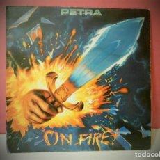 Discos de vinilo: DISCO VINILO PETRA ON FIRE. Lote 219826648