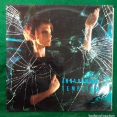 Discos de vinilo: ANNA DOMINO (MAXI) TEMPTING +2 TRACKS LP MAXISINGLE DE 1988 RF-8691 , BUEN ESTADO. Lote 219827353