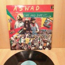 Discos de vinilo: ASWAD. LIVE AND DIRECT.. Lote 219827935