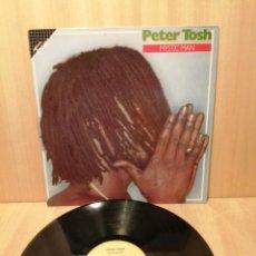 Discos de vinilo: PETER TOSH. MYSTIC MAN.. Lote 219828310