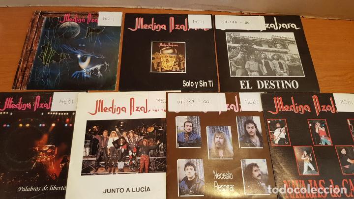 MEDINA AZAHARA / CONJUNTO DE 7 SINGLES DE MUY BUENA CALIDAD / LEER Y VER LAS FOTOS. (Música - Discos - Singles Vinilo - Grupos Españoles de los 90 a la actualidad)