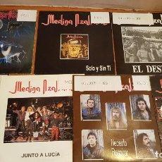 Discos de vinilo: MEDINA AZAHARA / CONJUNTO DE 7 SINGLES DE MUY BUENA CALIDAD / LEER Y VER LAS FOTOS.. Lote 219833105
