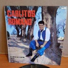 Discos de vinilo: CARLITOS ROMANO / MI BUENOS AIRES QUERIDO / EP - PALOBAL-1967 / IMPECABLE.. Lote 219846925