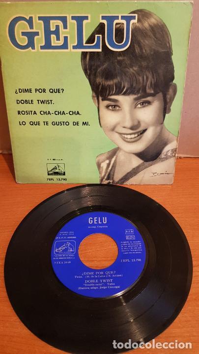 GELU / DIME POR QUÉ ? / EP - LA VOZ DE SU AMO-1962 / MBC. ***/*** (Música - Discos de Vinilo - EPs - Solistas Españoles de los 50 y 60)