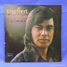 Discos de vinilo: LP ENGELBERT KING OF HEARTS - REY DE CORAZONES VG. Lote 219850026