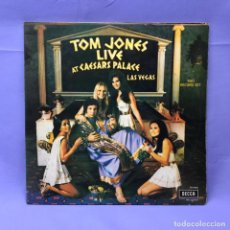 Discos de vinilo: LP TOM JONES LIVE -- AT CAESARS PALACE LAS VEGAS VG-- 2 VINILOS --MADRID 1972. Lote 219850327