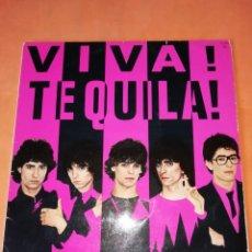 Discos de vinilo: TEQUILA. VIVA TEQUILA. ZAFIRO S.A. 1980. ENCARTES Y PEGATINAS.. Lote 219850502