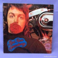 Discos de vinilo: LP RED PAUL MCCARTNEY AND WINGS -- ROSE SPEEDWAY -- VG+. Lote 219851040