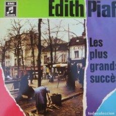 Discos de vinilo: EDITH PIAF LES PLUS GRANSES SUCCÈS LP EMI ALEMANIA. Lote 219854613