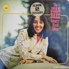 Disques de vinyle: JOAN BAEZ COUNTRY MUSIC 2 LP SELLO P&C 1979. Lote 219855516