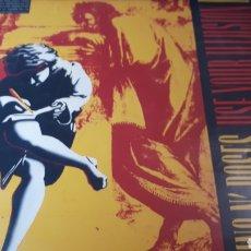 Discos de vinilo: GUNS N ROSES ISE YOUR ILLUSION I DOBLE LP. Lote 219858501