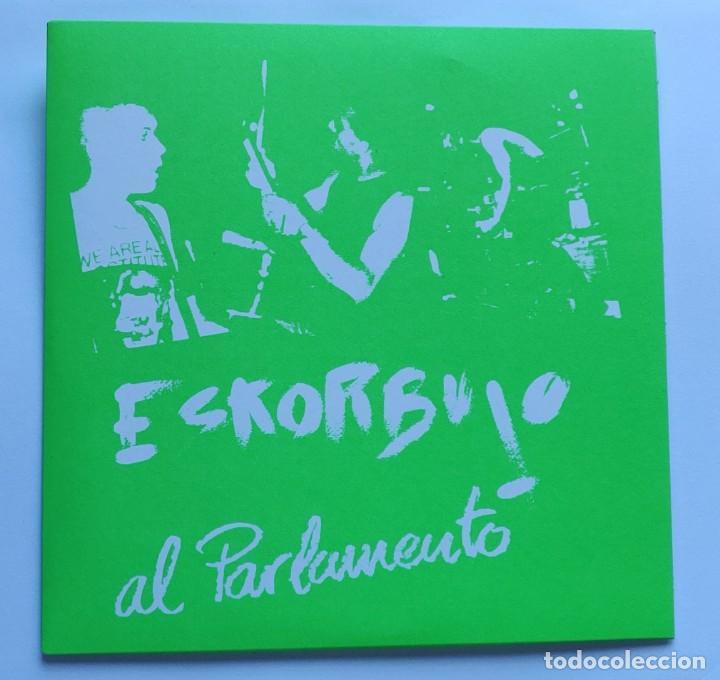 ESKORBUTO AL PARLAMENTO (Música - Discos - Singles Vinilo - Punk - Hard Core)