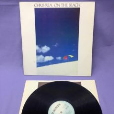 Discos de vinilo: LP CHRIS REA -- ON THE BEACH -- VG++. Lote 219864095