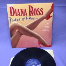 Discos de vinilo: LP DIANA ROSS-- REACH OUT, I'LL BE THERE. Lote 219864895
