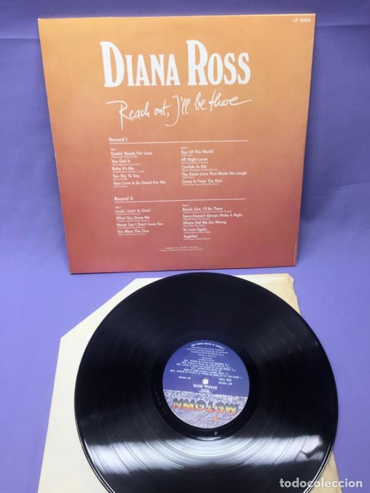 Discos de vinilo: LP DIANA ROSS-- REACH OUT, ILL BE THERE - Foto 2 - 219864895