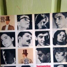 Discos de vinilo: HOMENATGE MUSICAL AL SETZE JUTGES LP - INTERPRETADO POR FRANCESC BURRULL. Lote 219876316