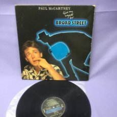 Discos de vinilo: LP PAUL MCCARTNEY -- GIVE MY REGARDS TO BROAD STREET -- VG. Lote 219876325