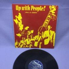 Discos de vinilo: LP UP WITH PEOPLE! VIVA LA GENTE! -- VG+. Lote 219877585