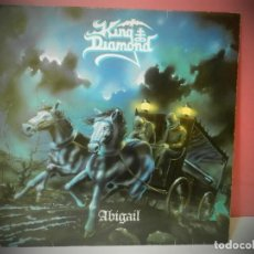 Discos de vinilo: DISCO VINILO KING DIAMOND ABIGAIL. Lote 219880355