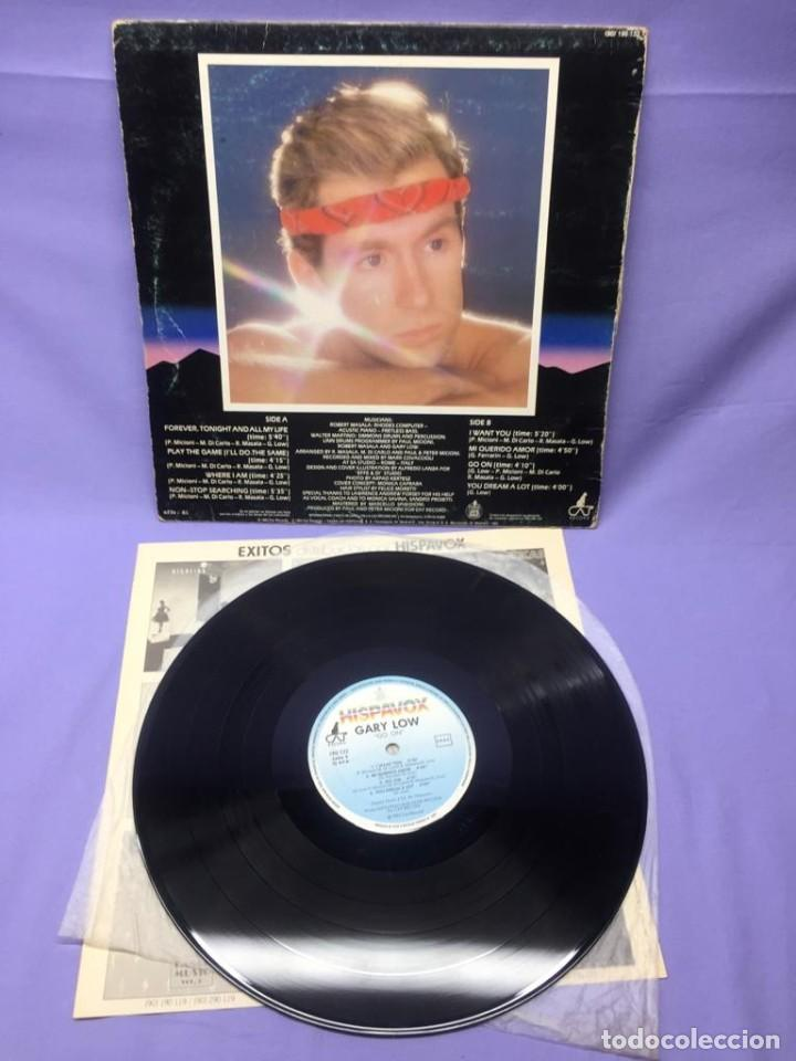 Discos de vinilo: LP GARY LOW -- GO ON 1983 ESPAÑA -- VG - Foto 2 - 219881835