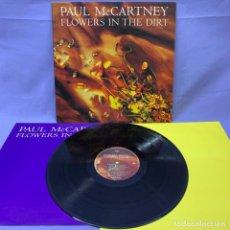 Discos de vinilo: LP PAUL MCCARTNEY -- FLOWERS IN THE DIRT -- 1989 -- VG+. Lote 219887350