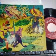 Disques de vinyle: EL ESPANTAPÁJAROS SINGLE CUENTO. Lote 219890715