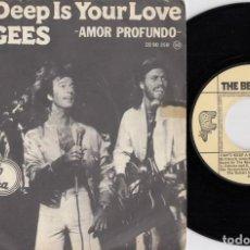 Dischi in vinile: THE BEE GEES - HOW DEEP IS YOUR LOVE - SINGLE DE VINILO EDICION ESPAÑOLA. Lote 219893216