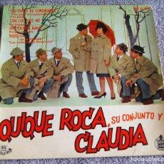 Discos de vinilo: QUIQUE ROCA, SU CONJUNTO Y CLAUDIA - EP - LAS CHICAS DE COPENHAGUE + 3 - AÑO 1961. Lote 219900893