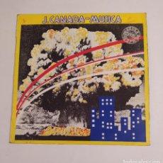 Discos de vinilo: J. CANADA - MÚSICA / CAMINANDO DESCALZA - MAXI-SINGLE. TDKDA76. Lote 219901027