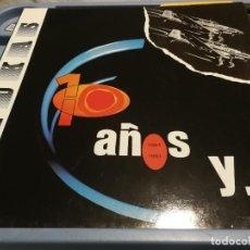 Discos de vinilo: STUKAS -10 AÑOS Y ….AÑO 1991 LP. Lote 219915960