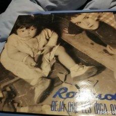 Discos de vinilo: ROSENDO -DEJA QUE LES DIGA QUE NO AÑO 1991 LEÑO MOVIDA LP. Lote 219916431